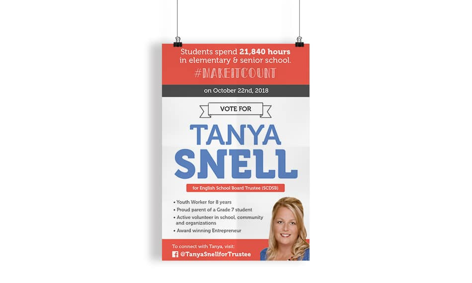 Tanya Snell for School Trustee