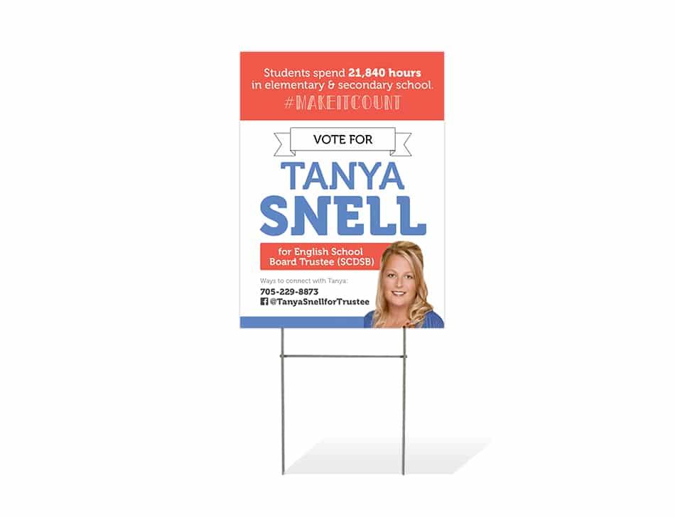 Tanya Snell for School Trustee